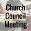 Church Council Meeting – May 2017